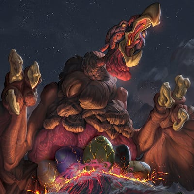 John silva vengeful turkey monster regular by john silva