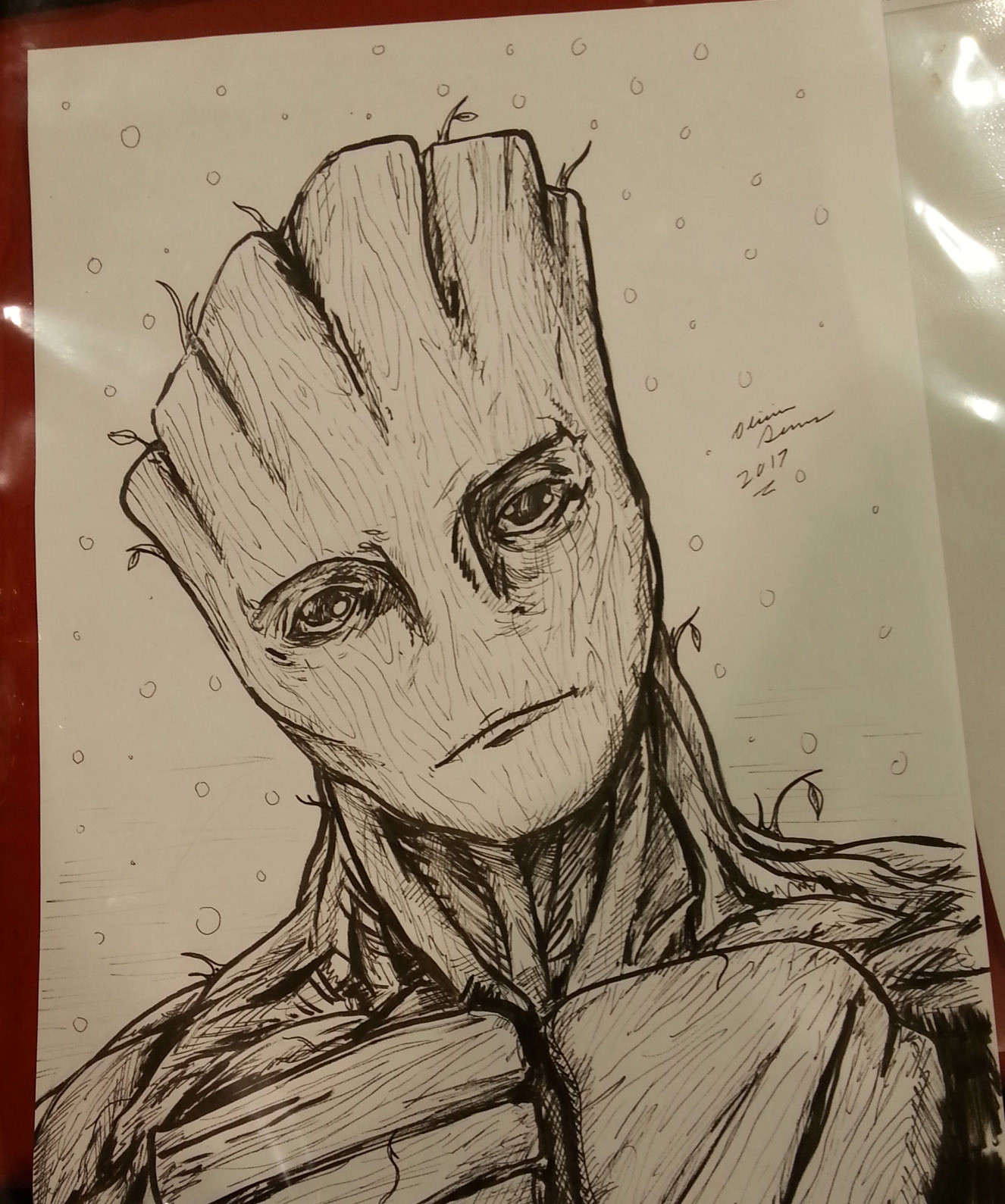 ArtStation - Fan Expo 2017 Sketches, Olivier Demers