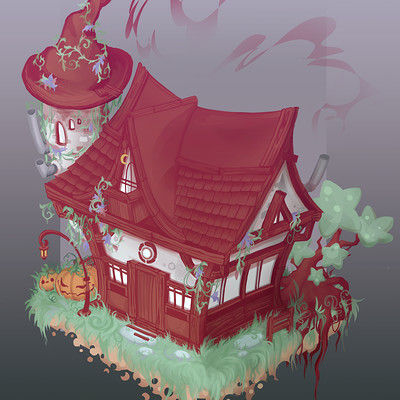 Sarah buettner witch house01