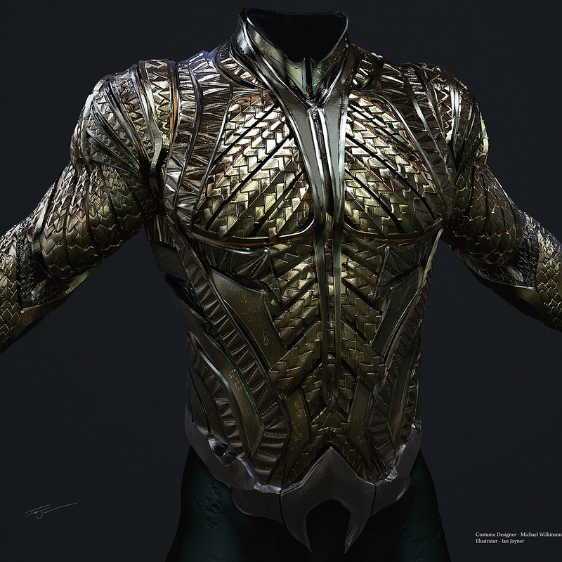 Justice League - Aquaman Armor