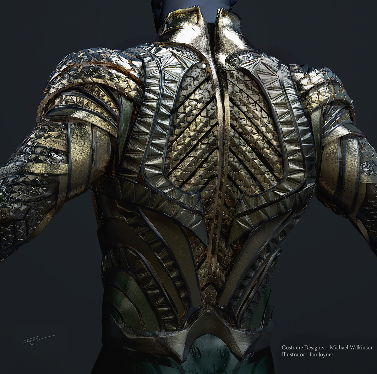 Armor back