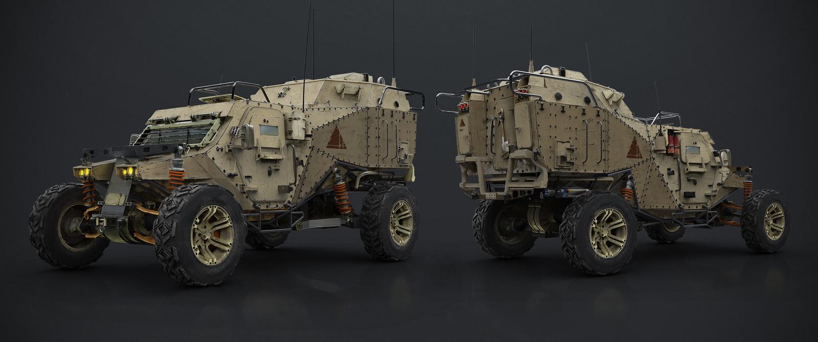 Military buggy v2