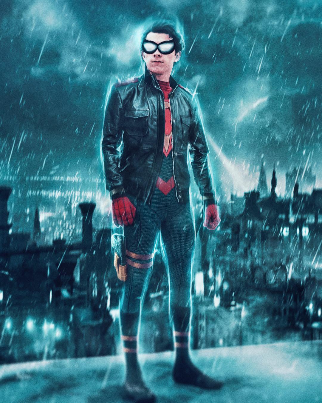 Superboy x Spider-Man