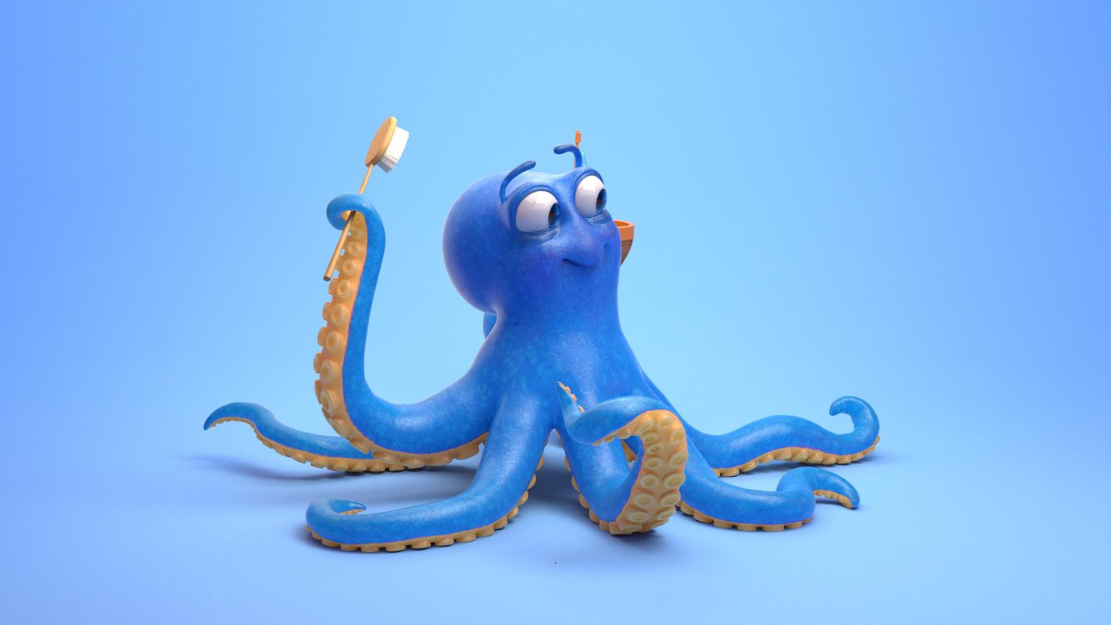 Octopus Look Development