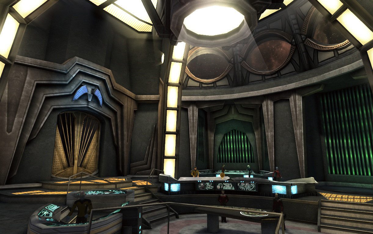 Deep Space Nine interior