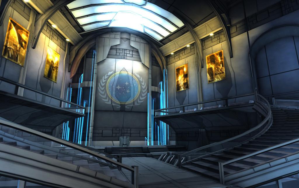 Star Base One interior