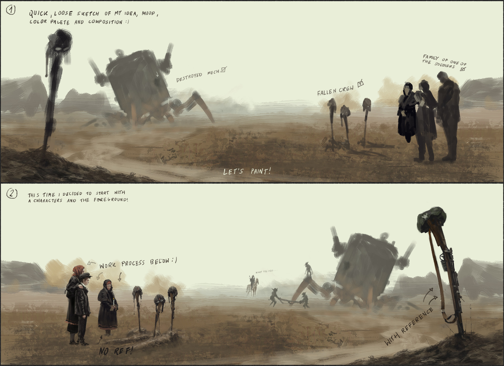 Jakub rozalski pride of glory process1a