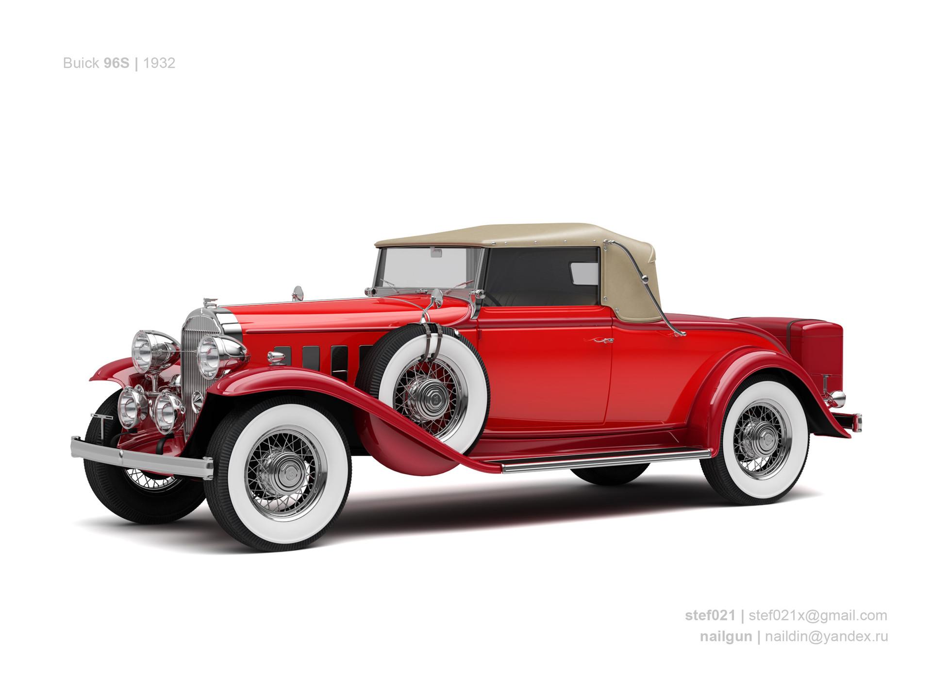 Nail khusnutdinov usa buick 69s 1932 0