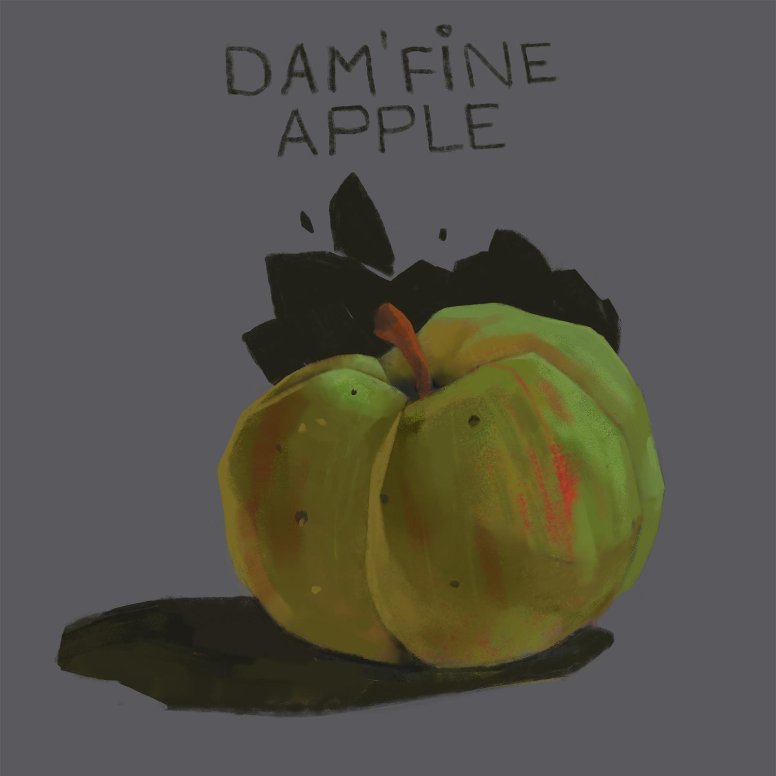 Damn fine apple!