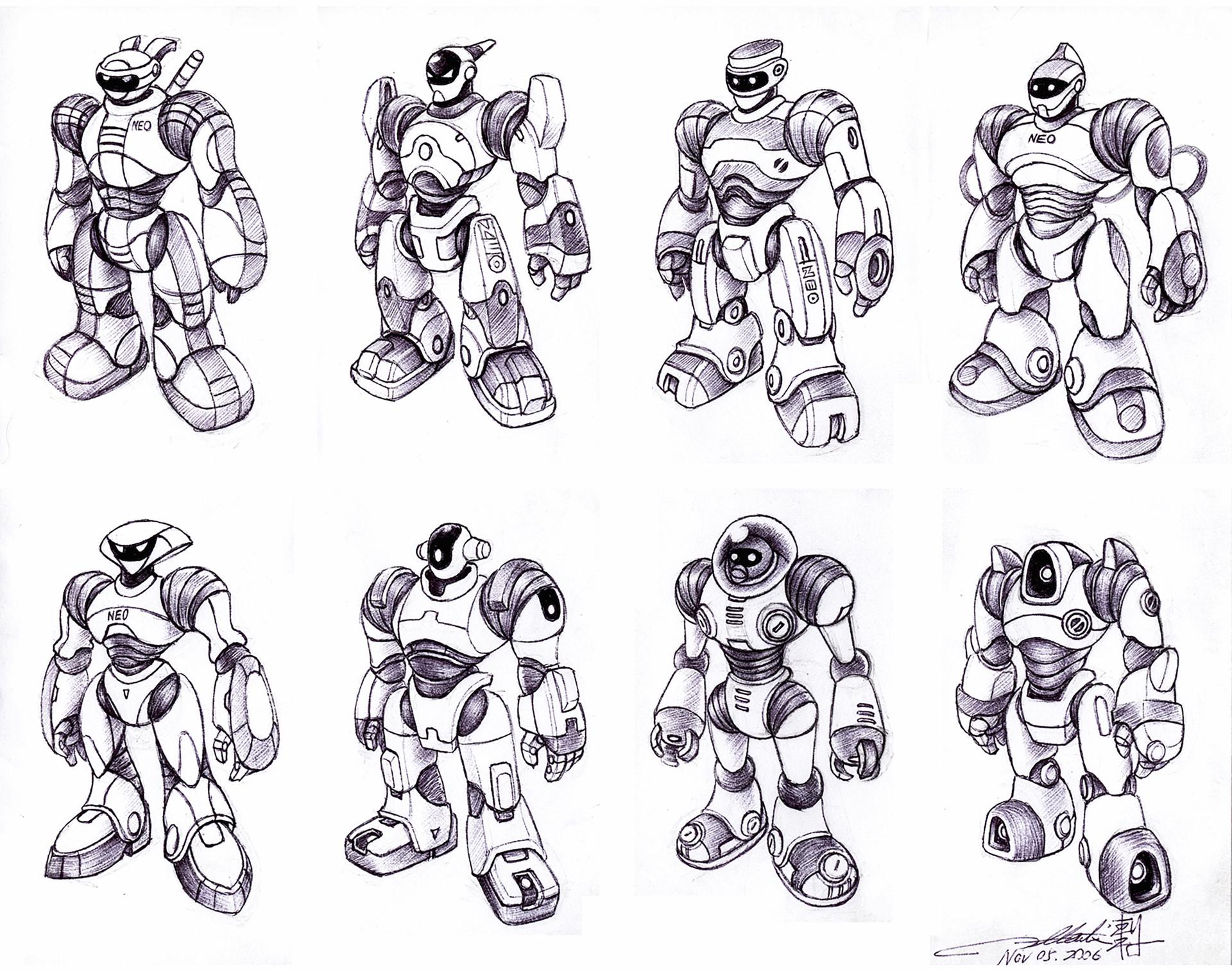 Humanoid Robotic Toy Concept II