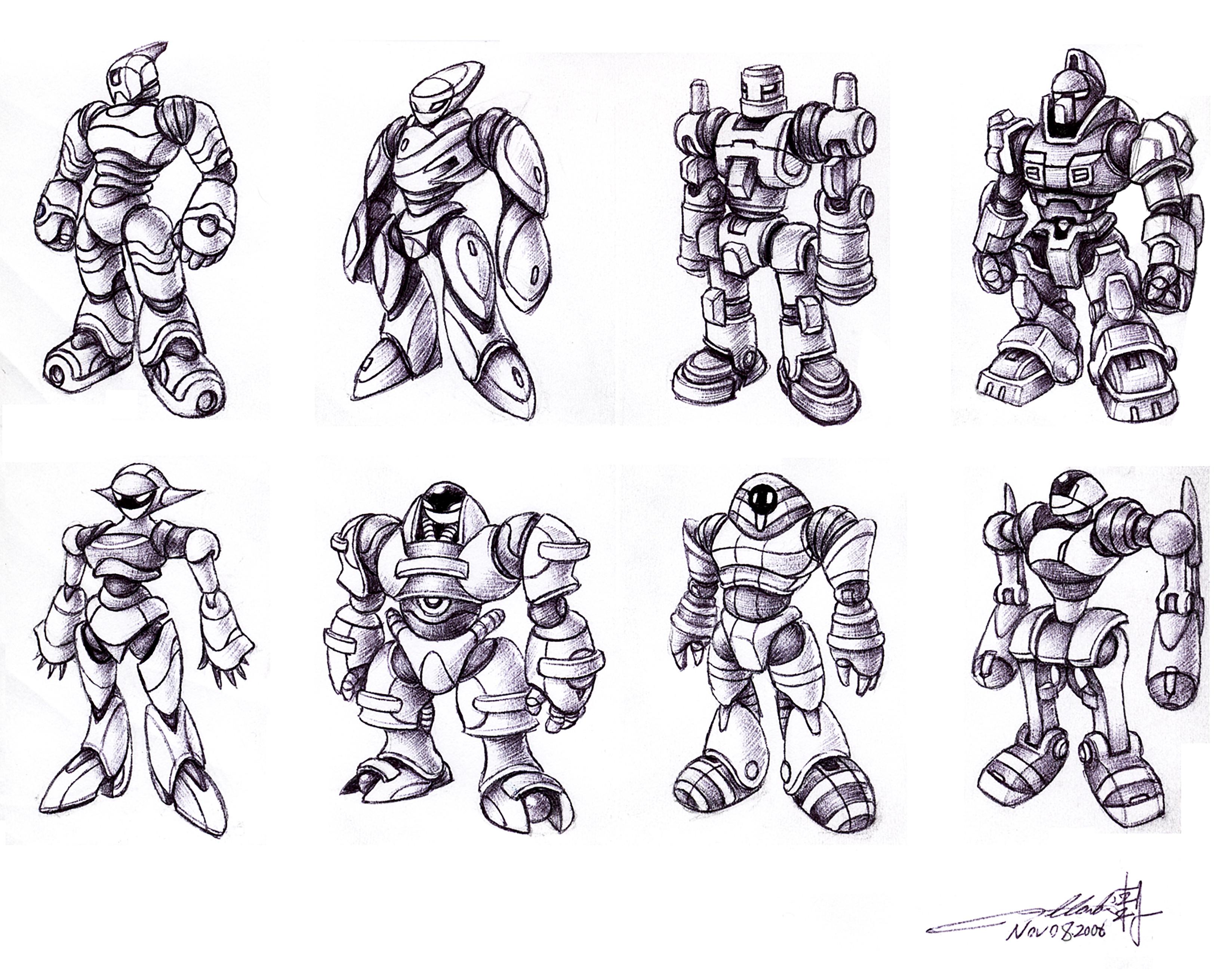 Humanoid Robotic Toy Concept III