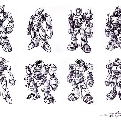 Humanoid Robot Toy Concepts