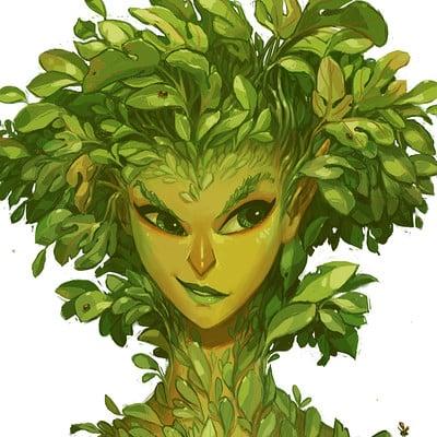 Anna daviscourt sketchbook2018 plantbust color3