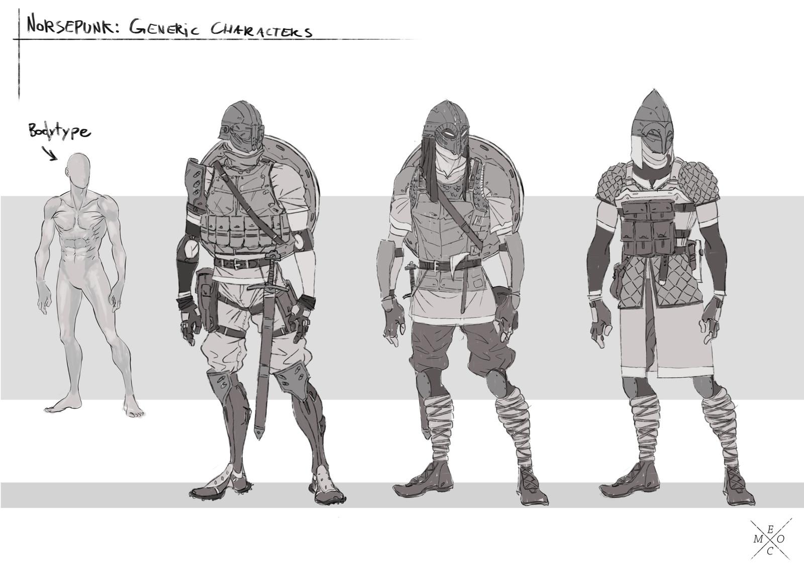 Norsepunk: Visual Development 01