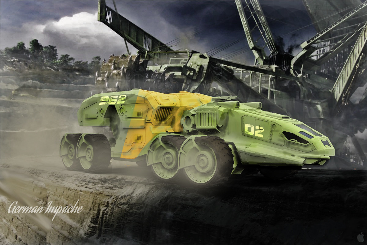 Mining Truck G-iant 8x8