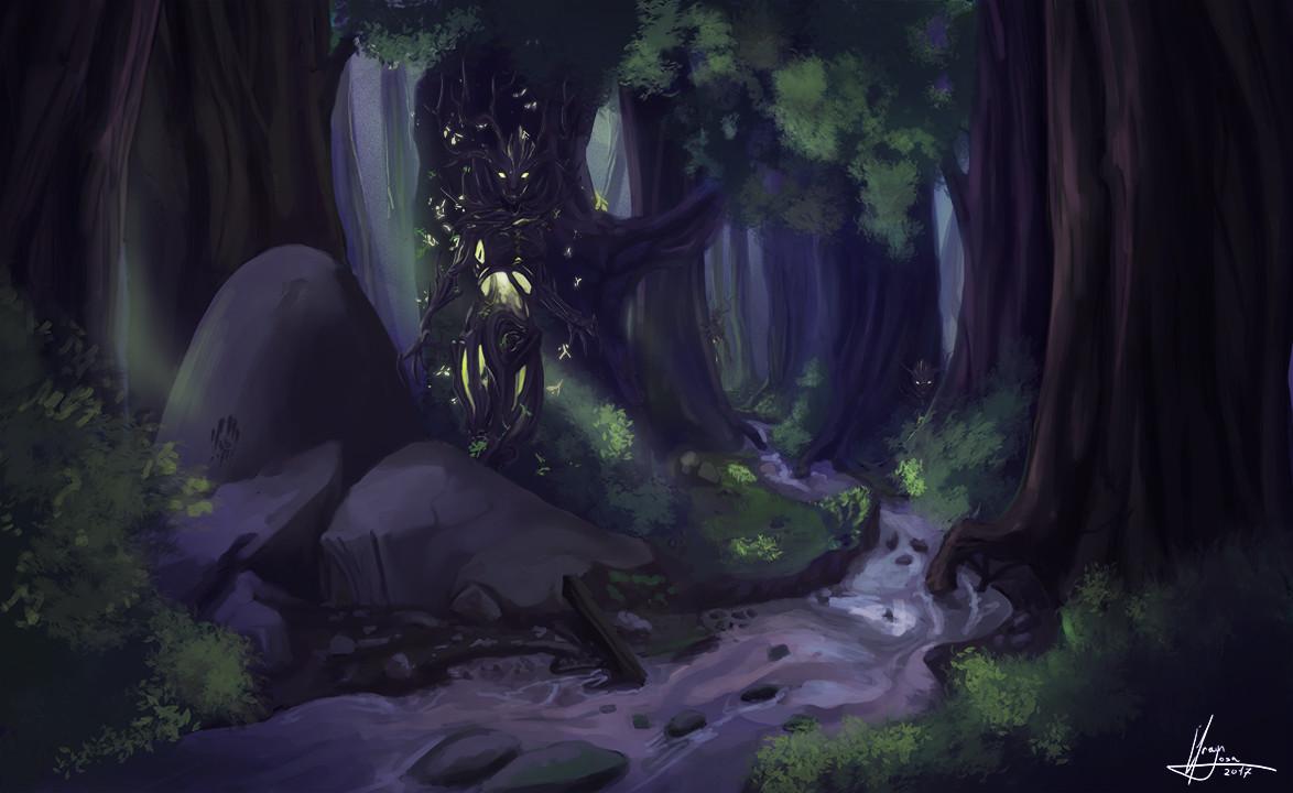 Efrain sosa spriggan del bosque 02