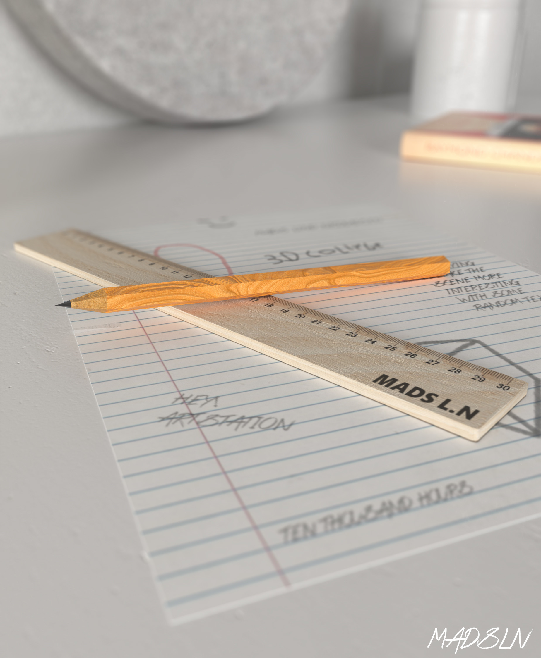 Mx lind nicolaisen paper closeup