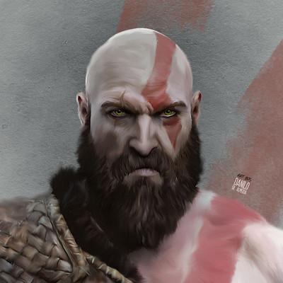 Danilo de almeida kratos god of war 4