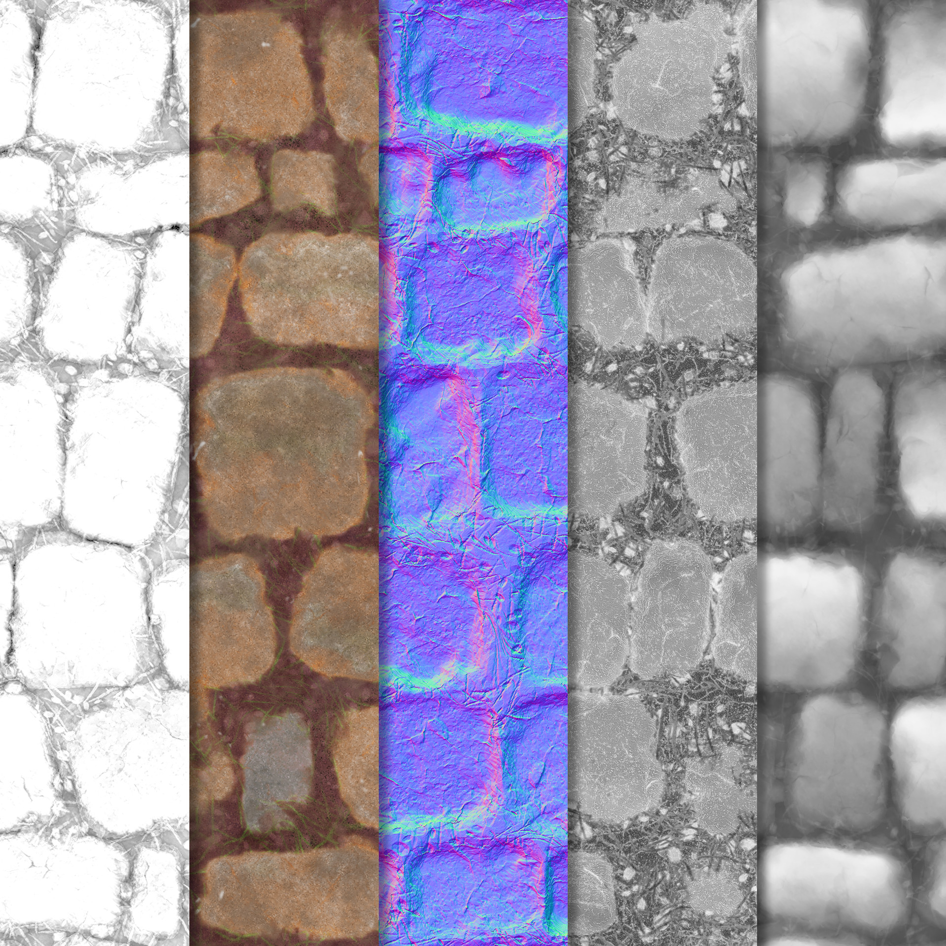 Christopher logan cobblestone texture