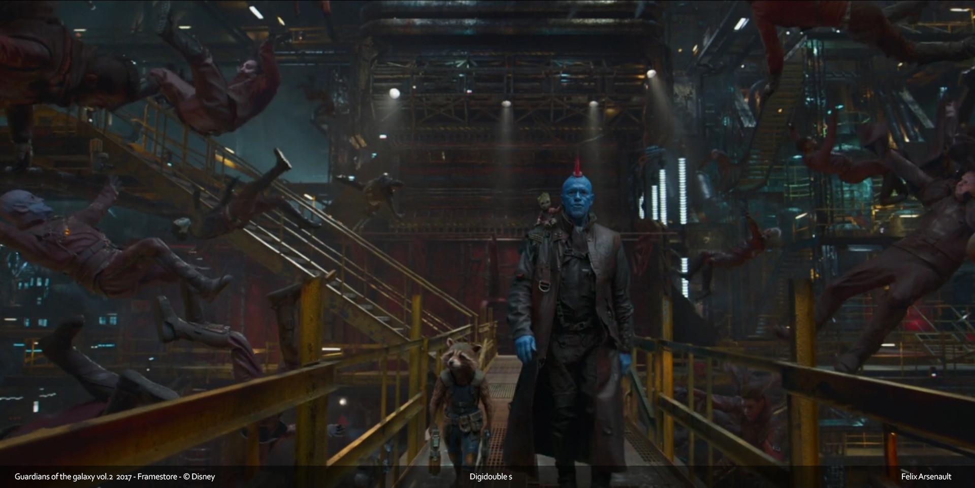 ArtStation - Guardians of the galaxy vol  2 , Félix Feu