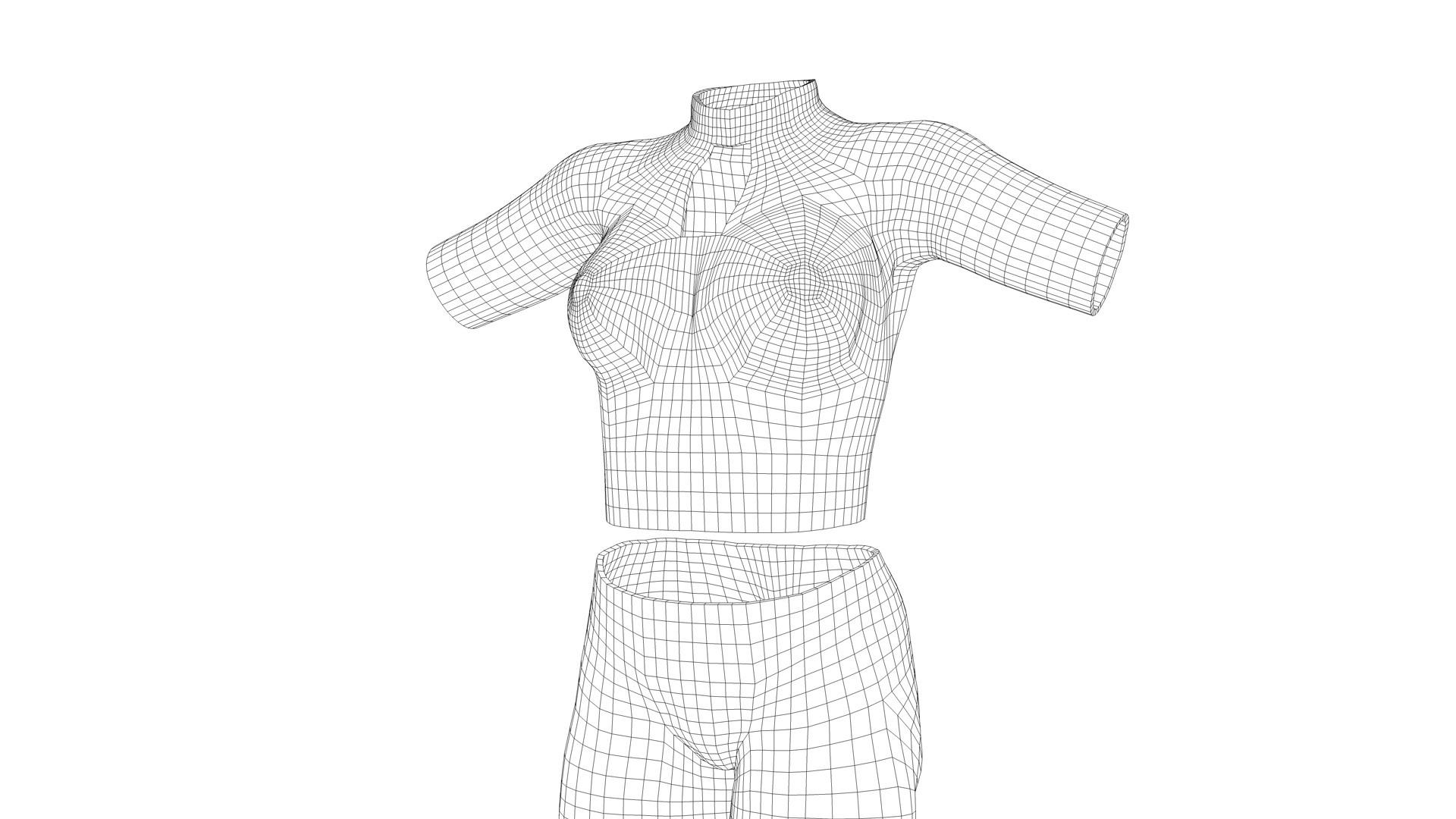 Michelangelo girardi scififemale uniform topo