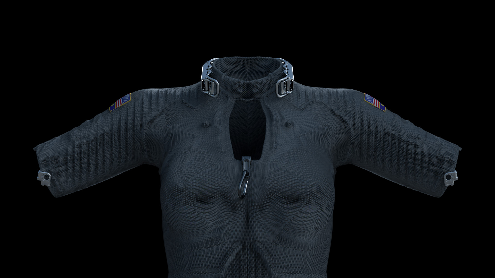Michelangelo girardi scifi uniform front