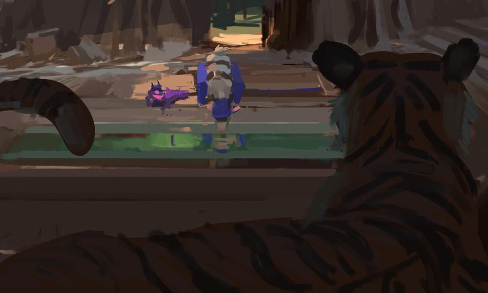 Devin platts bengal tiger