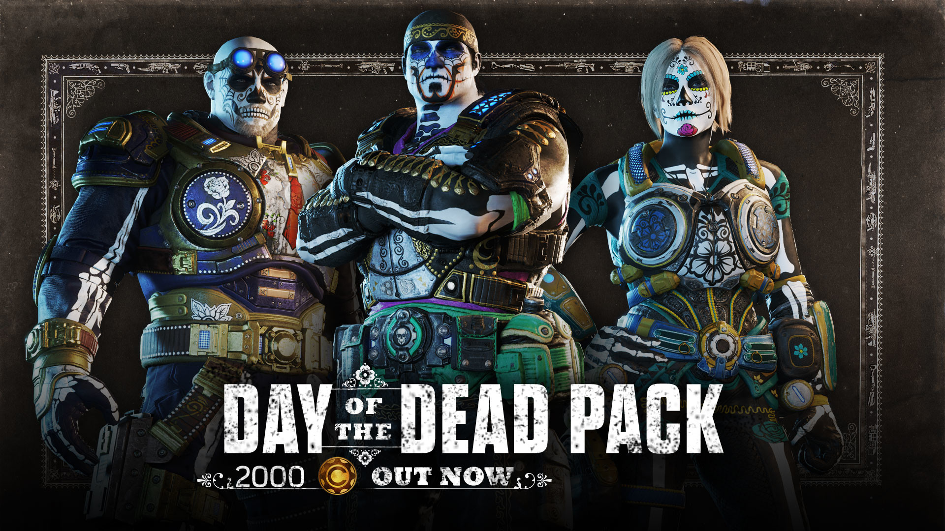 Day of the Dead pack