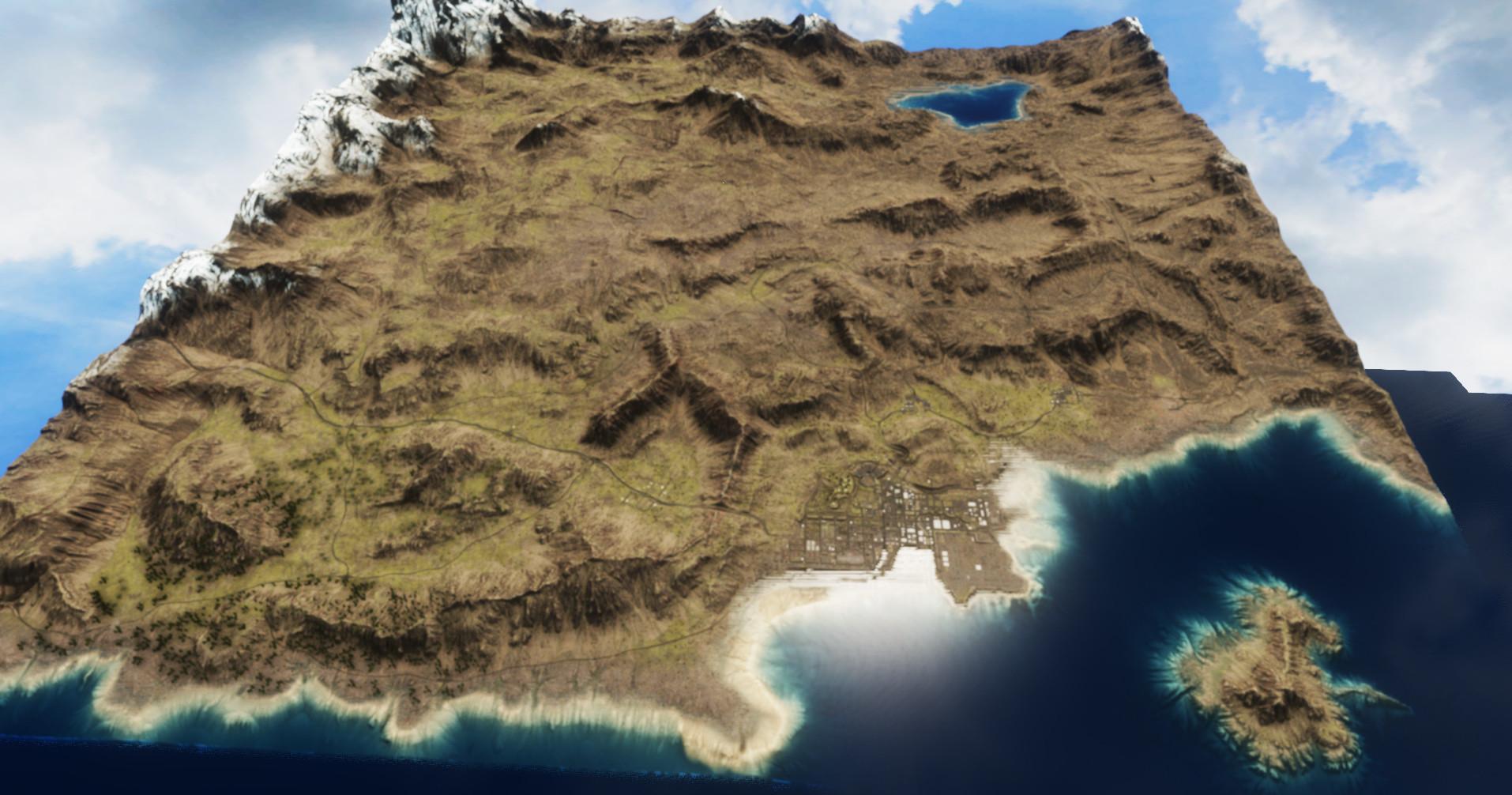 Warz California Map Terrain