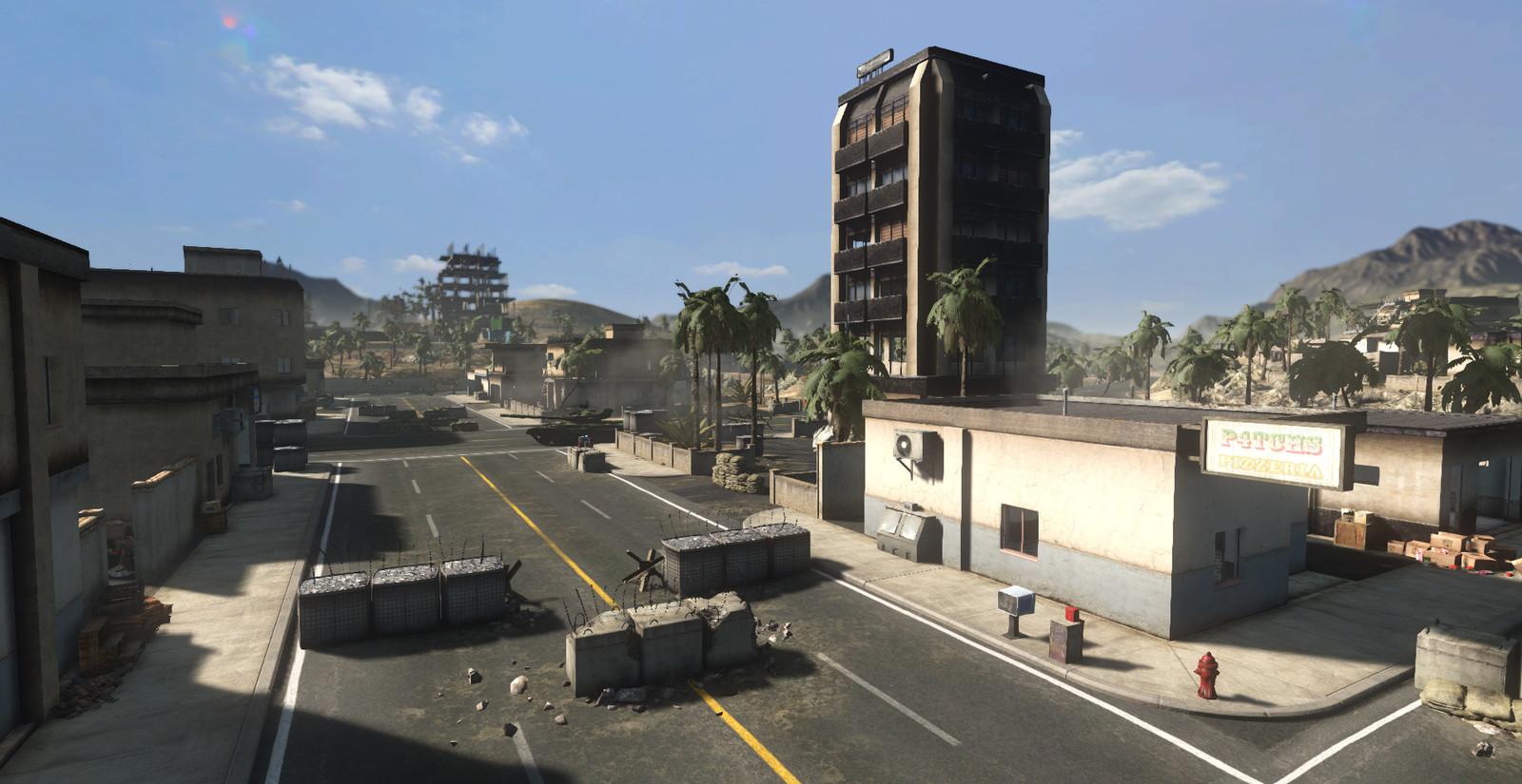 Crossroads 2 Map. Buildings, Layout, Terrain