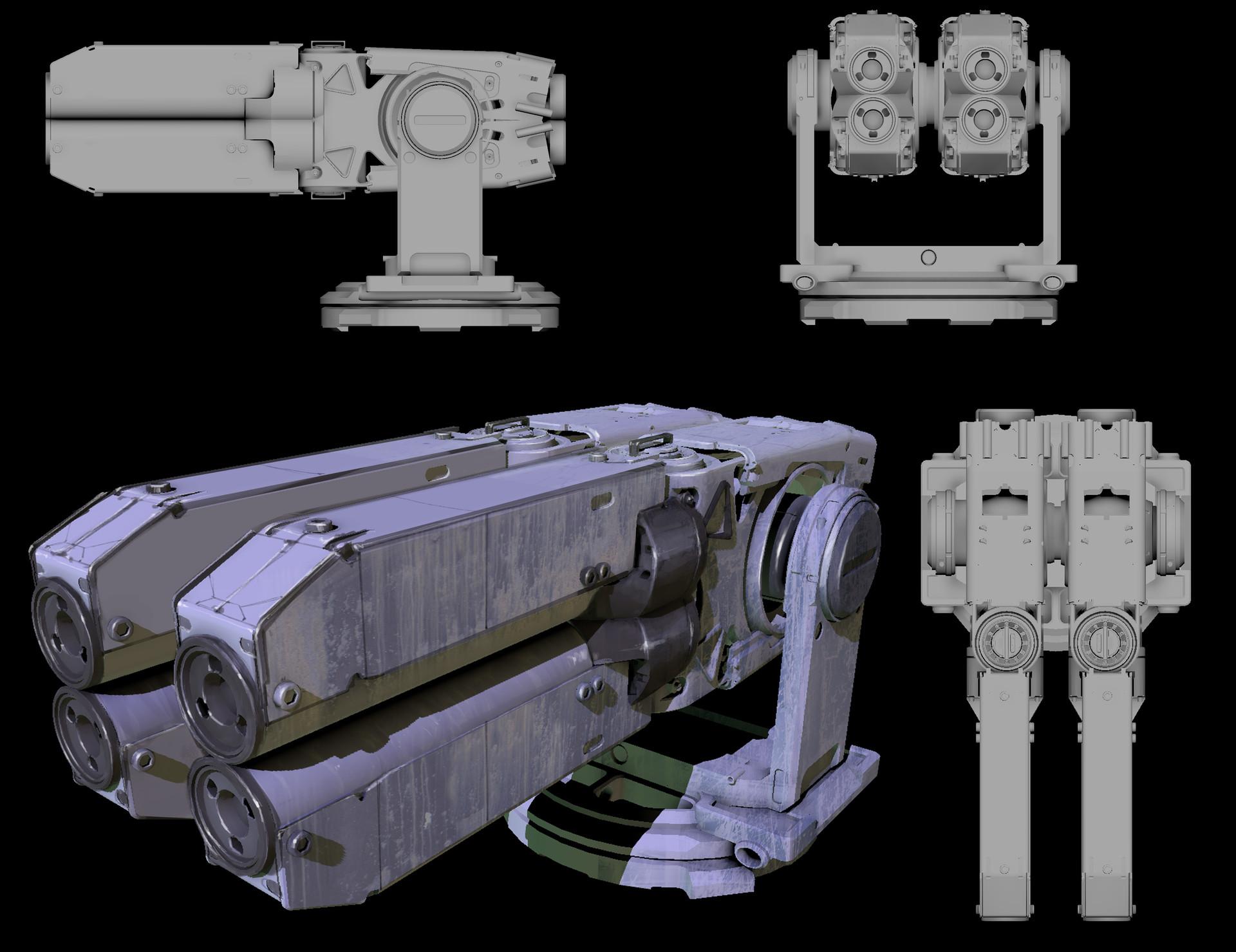 Jeff bartzis seer freighter guns 001