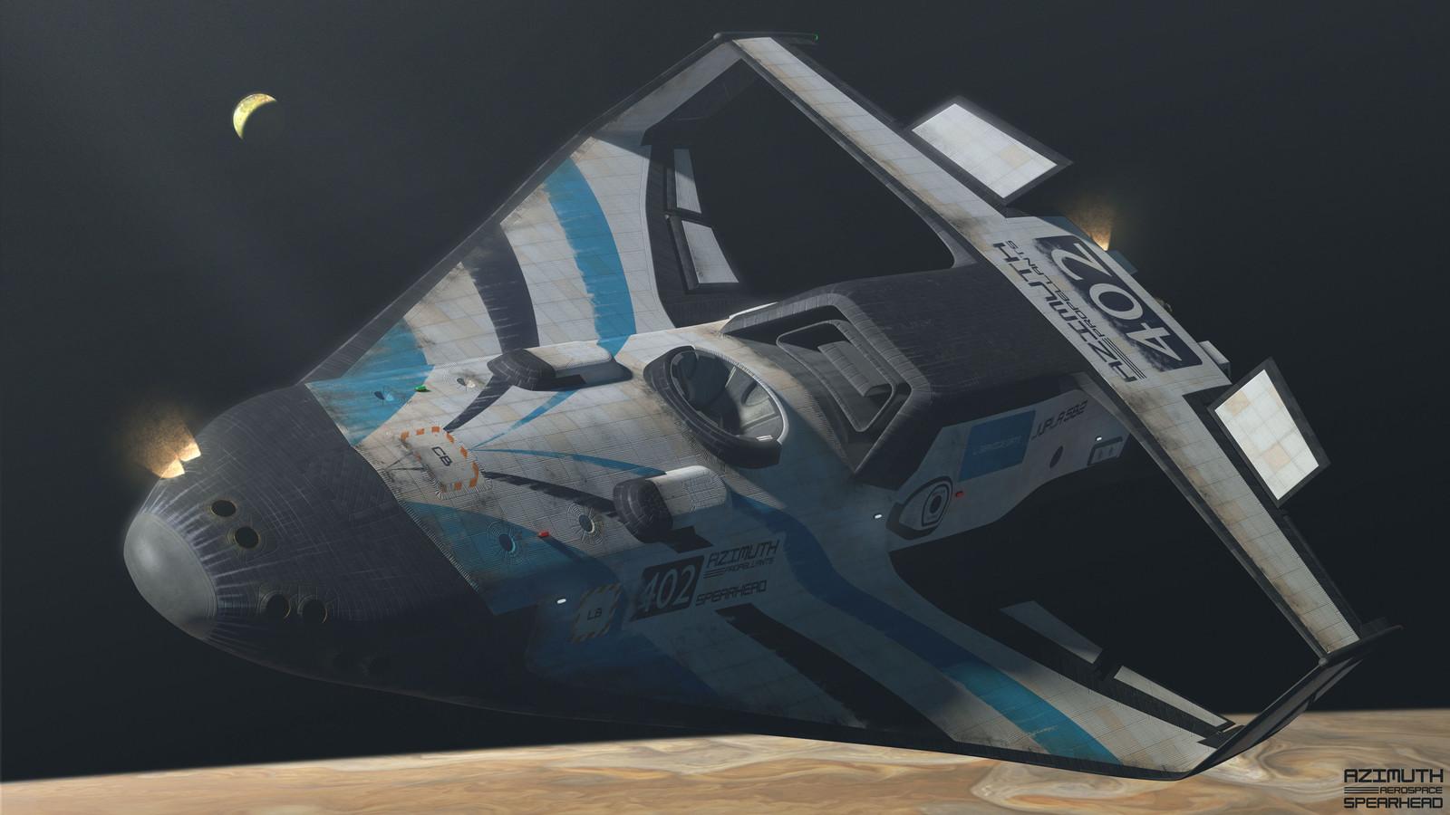 Maneuvering in orbit