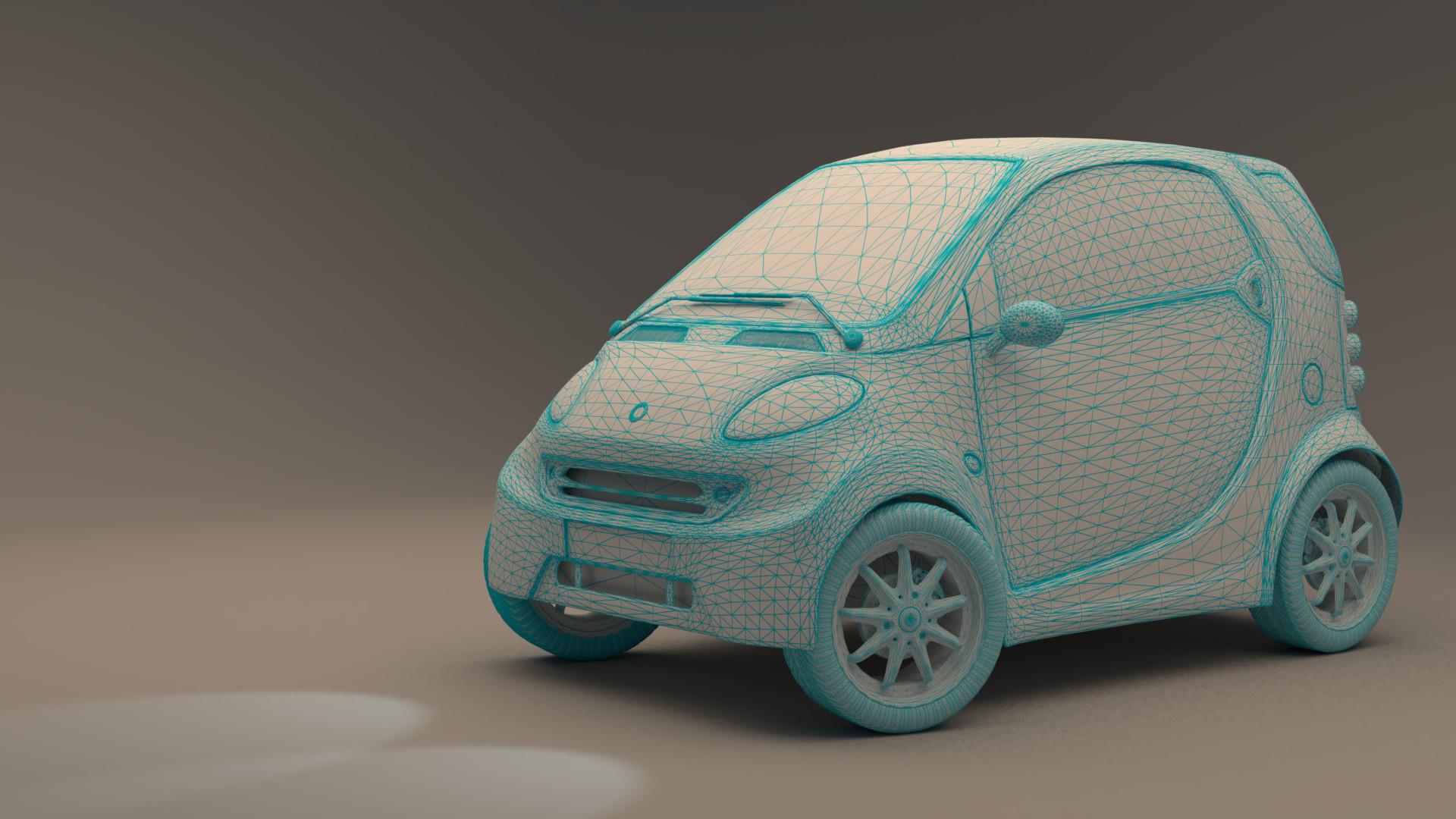 ArtStation - Smart Car, Wade Morrison