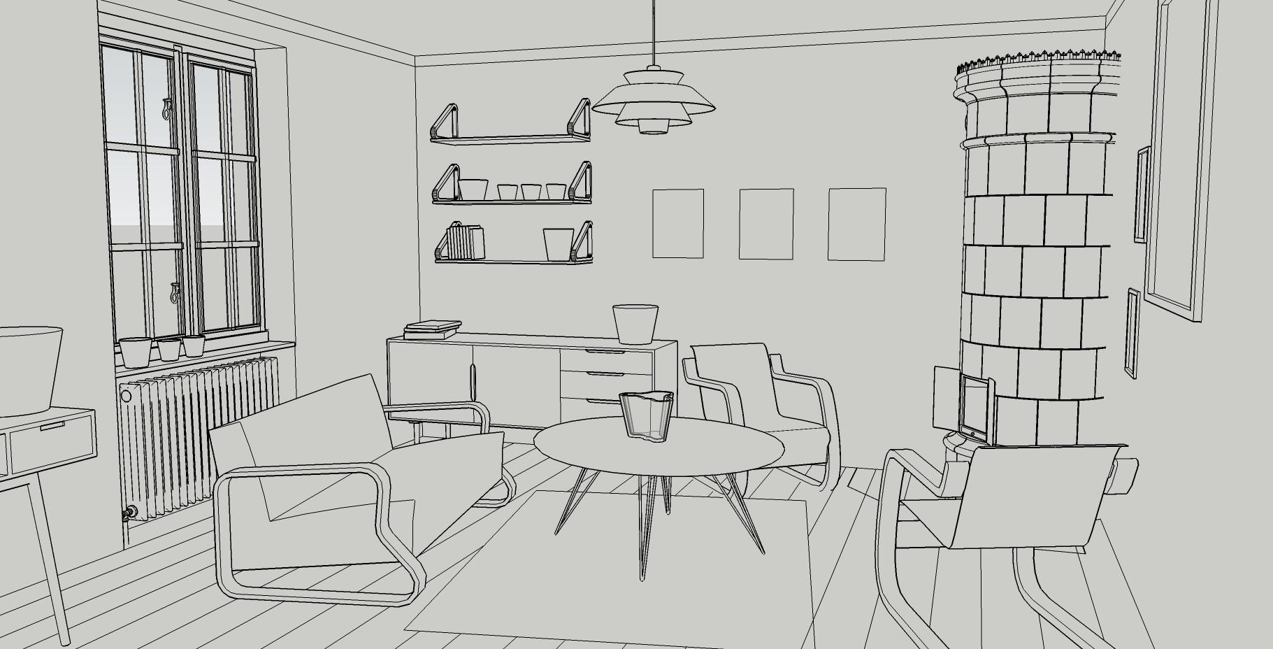 Ulysse Verhasselt - Finnish interior design