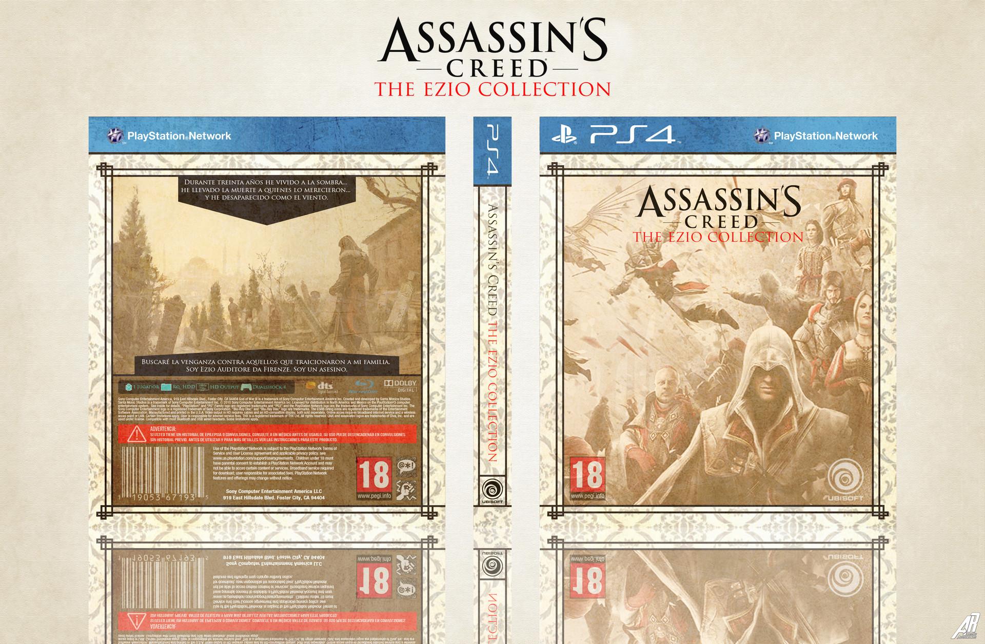 Artstation Assassin S Creed The Ezio Collection Alternative Box Alberto Rey Moreno