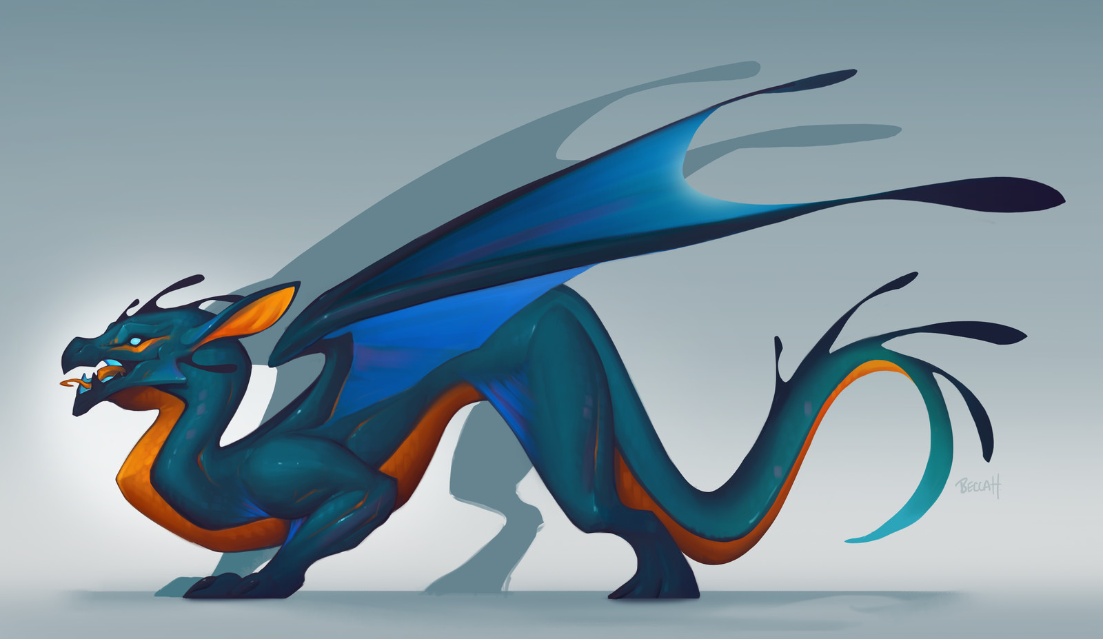 Aqua Draggo with Process