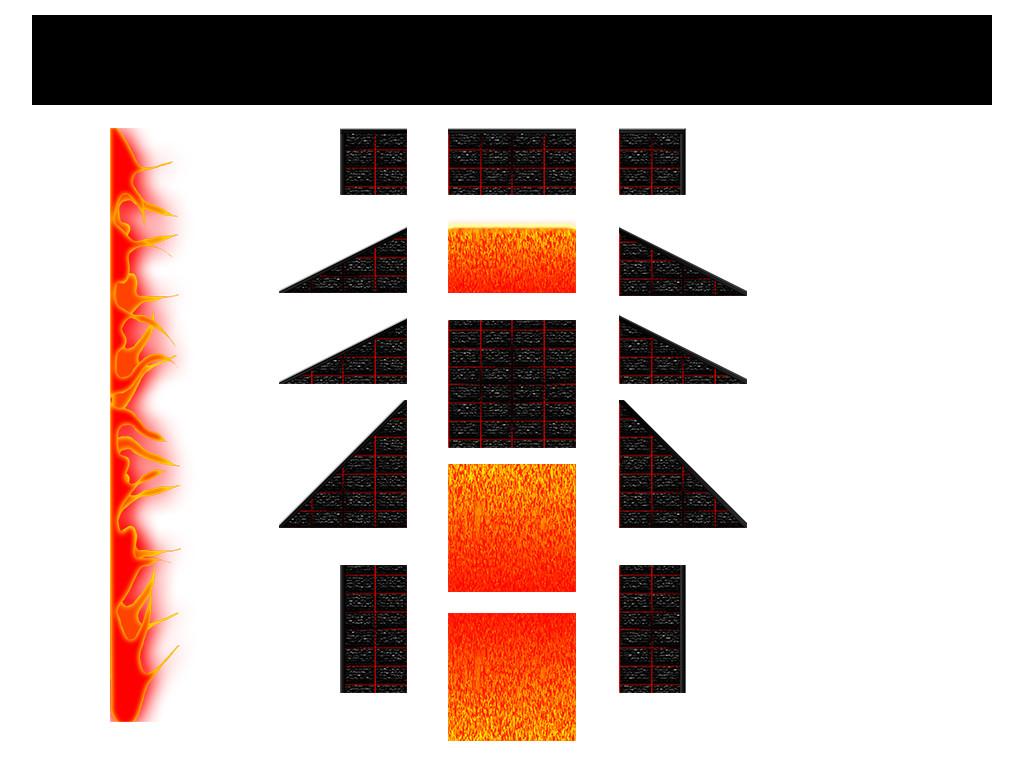 Lava level sprites (Fixtures)