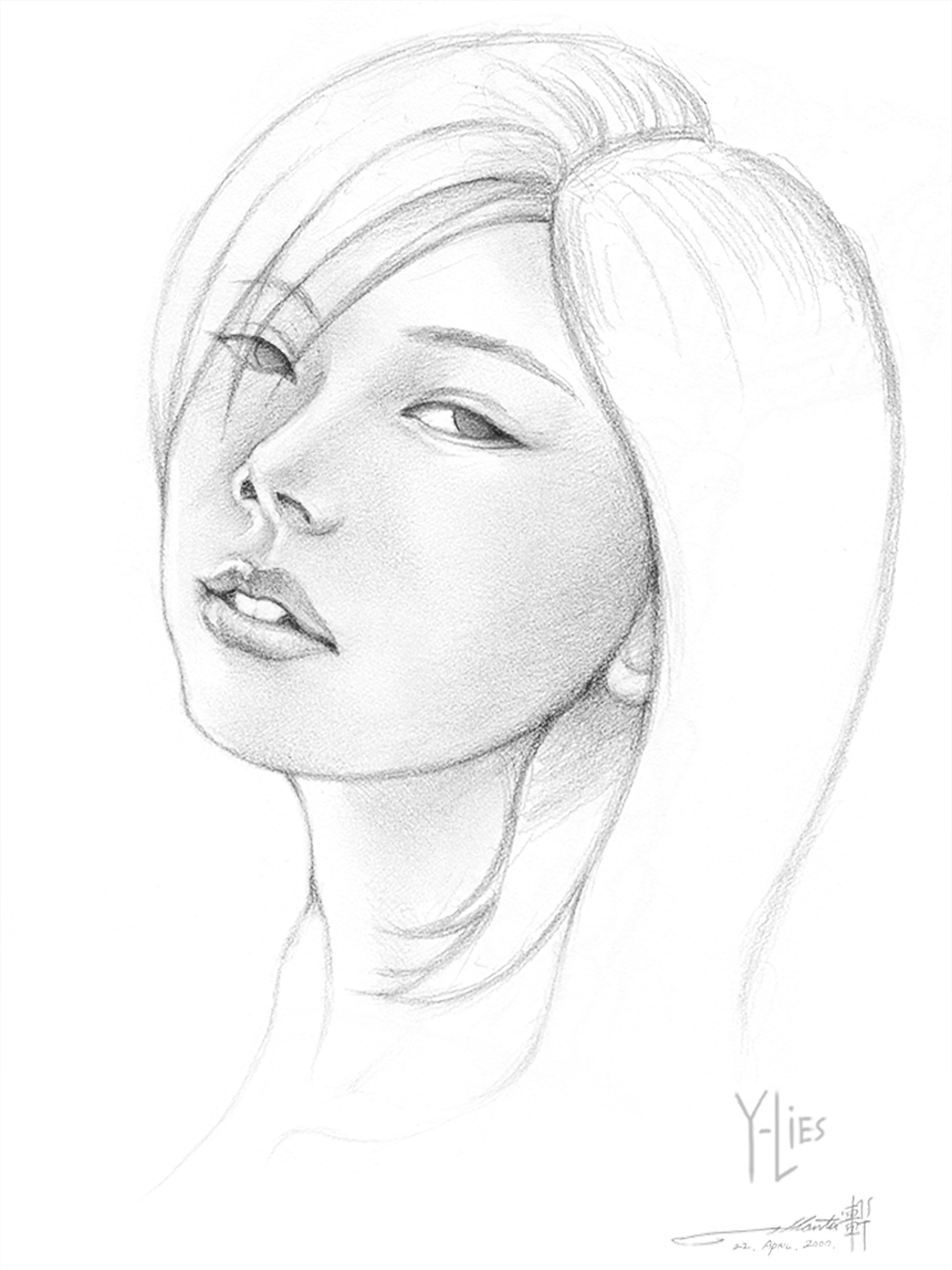 Y Lies?: Pencil Sketch