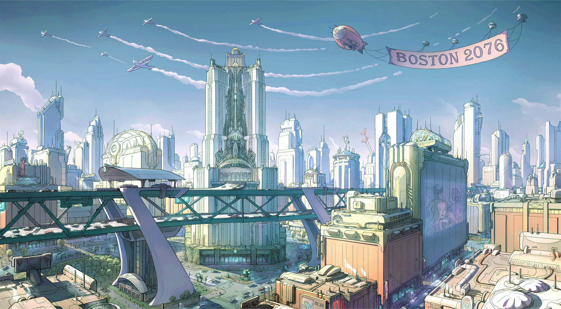Concept art for Fallout 4.