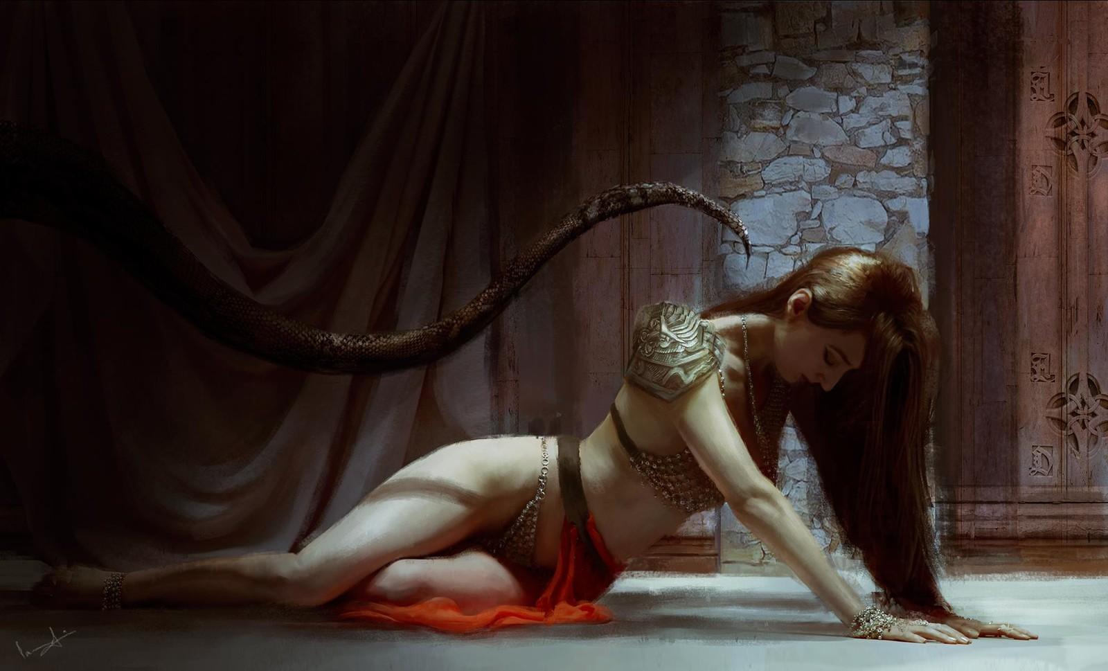 The Silent Curse - concept art