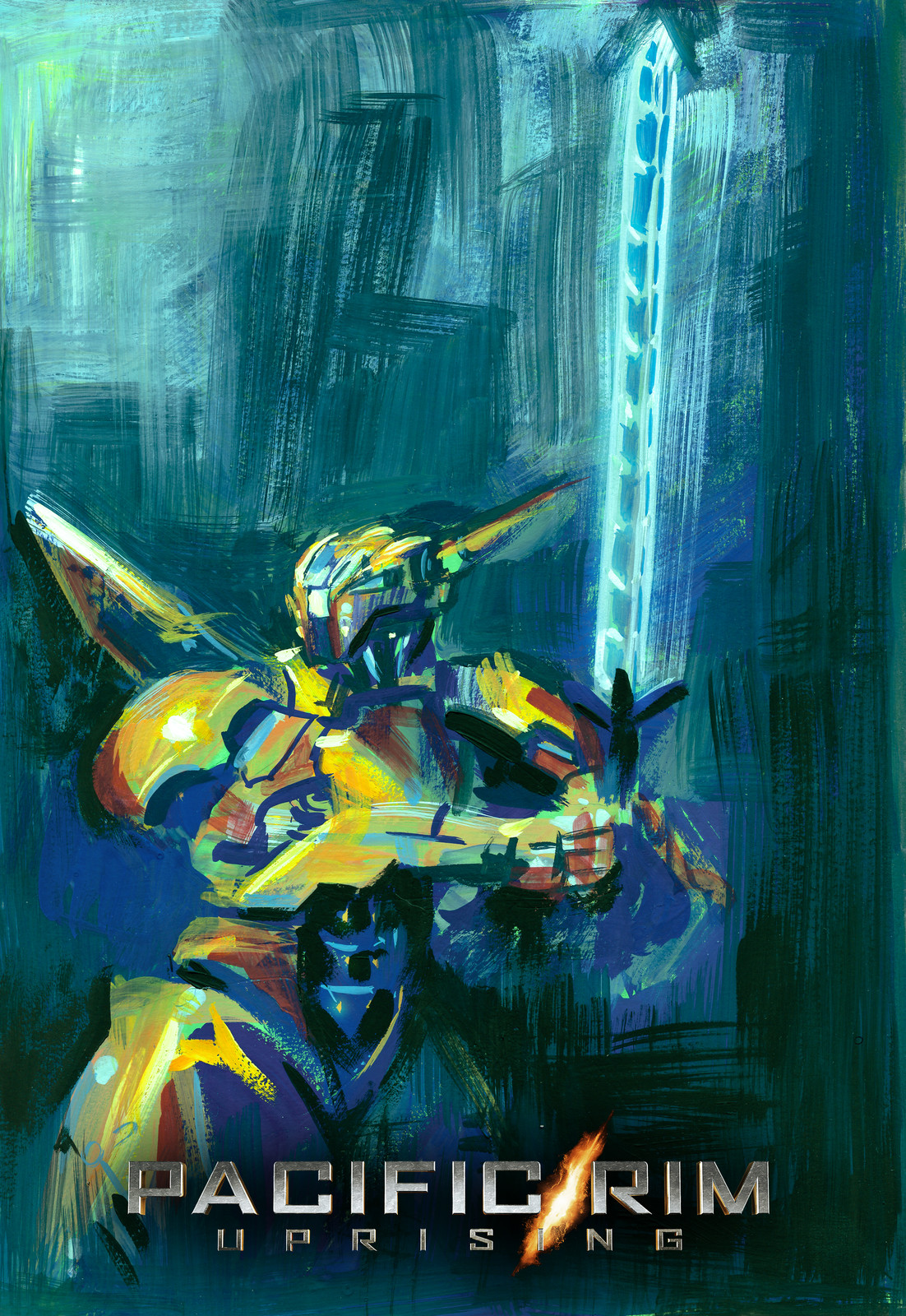Golden Orange Jaeger