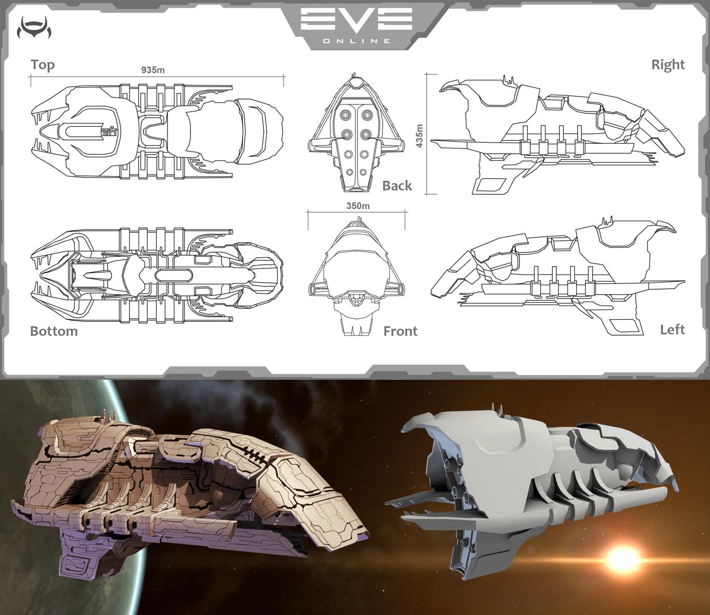 Semyon Bryzgunov - EVE Online create a star ship contest 2010