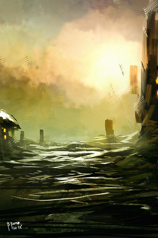 Benedick bana landscape study final lores