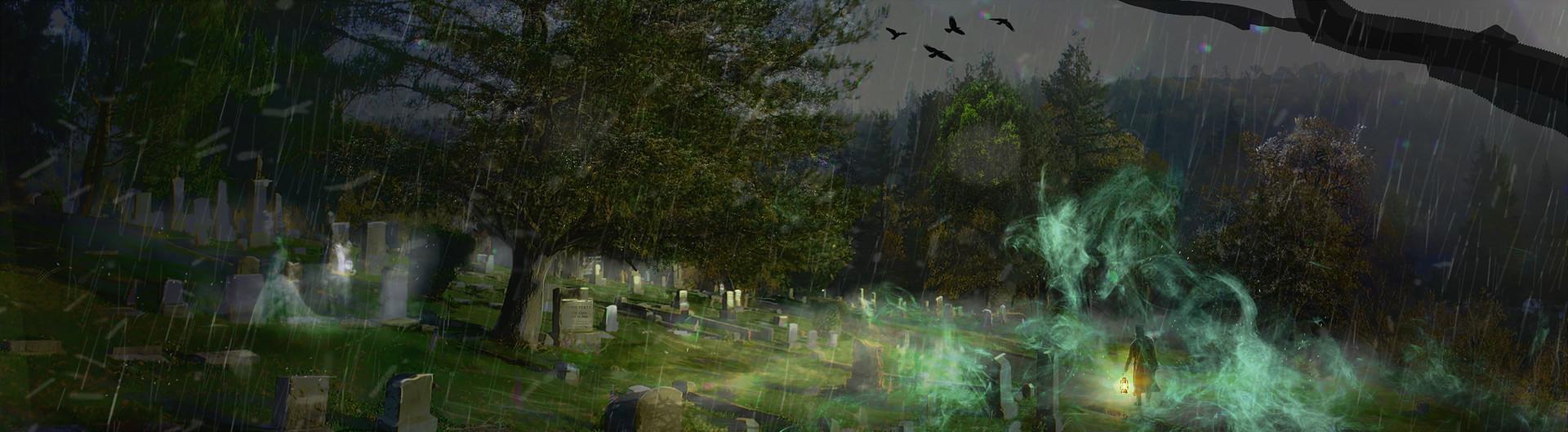 Michael morris graveyard1