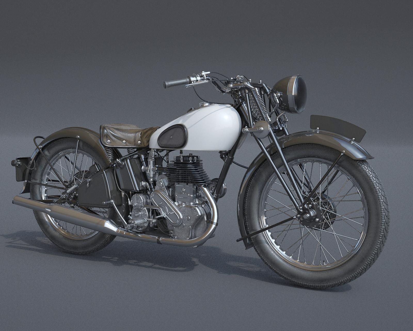 Norton 16H (1937)