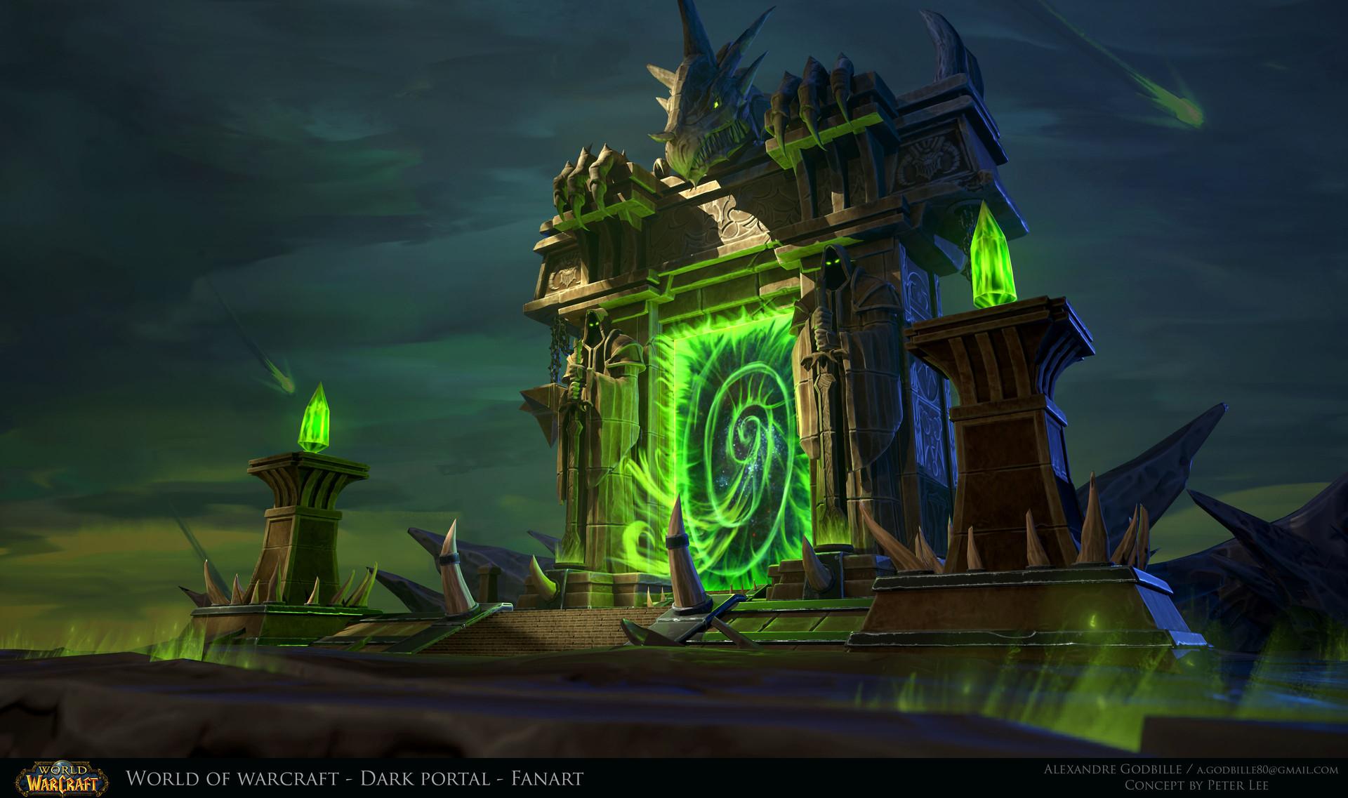 Warcraft Dark Portal - Fanart - Marmoset Viewer