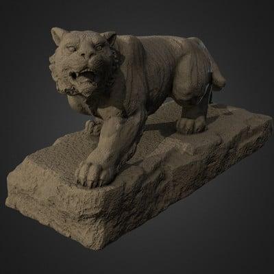 Vlx kuzmin lion from bomboko ono monument