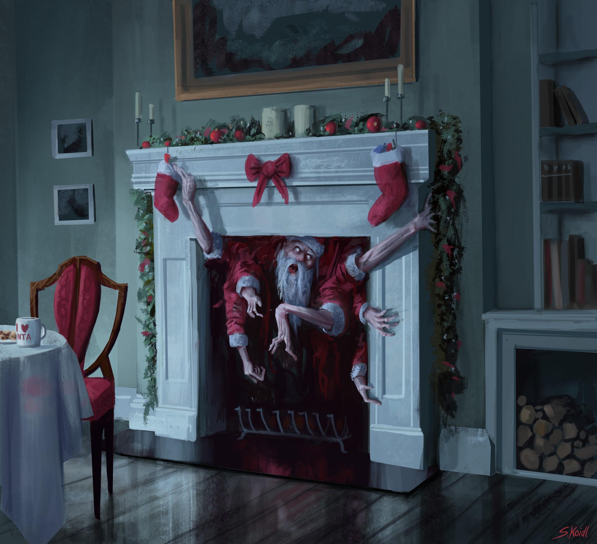 Stefan Koidl, Santa is coming, arte digitale