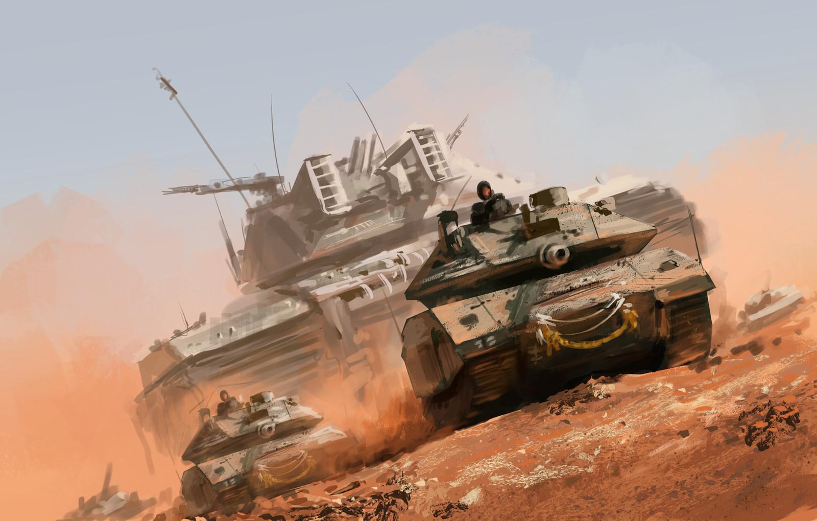 Frontline tank