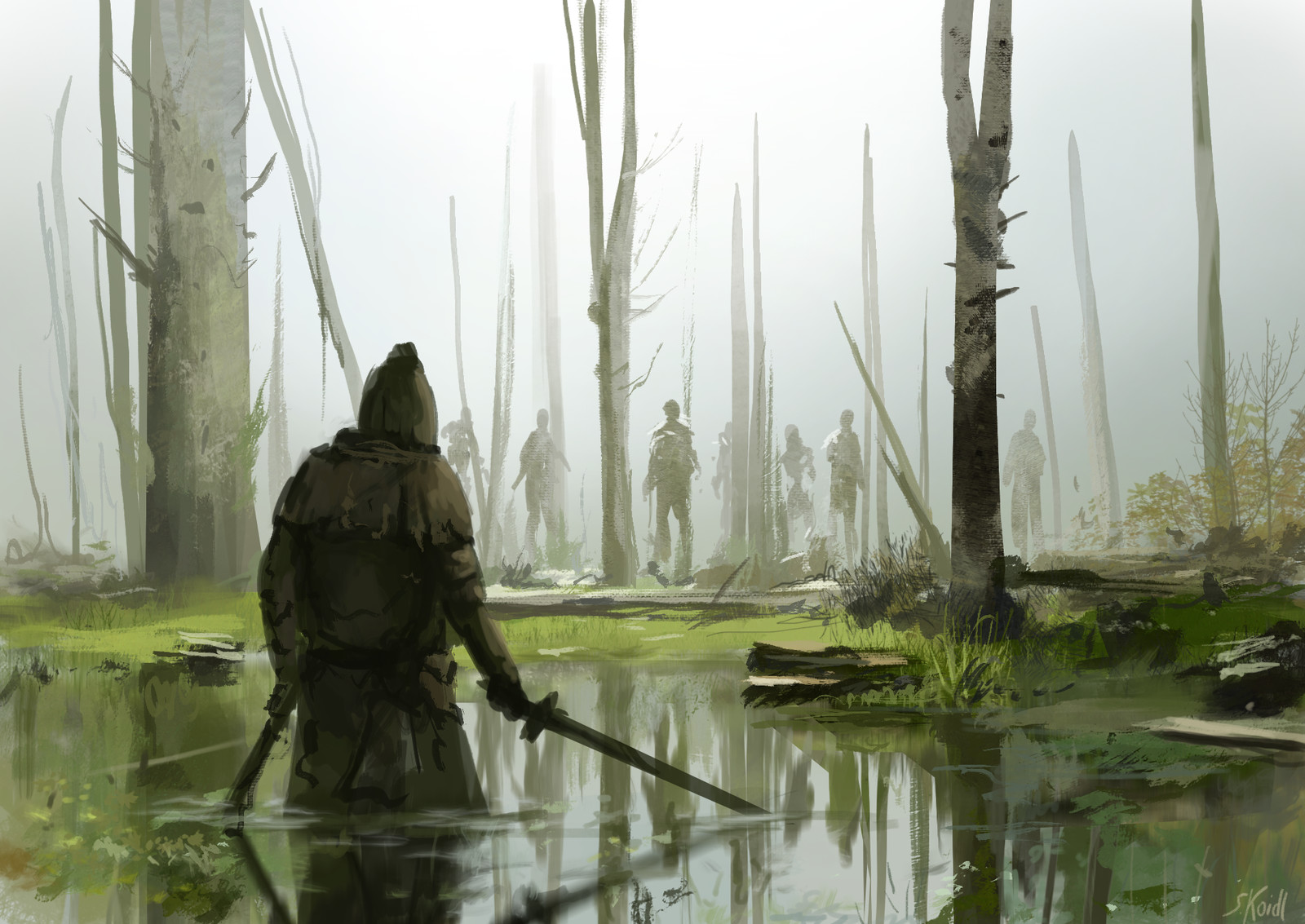 The dead marshes